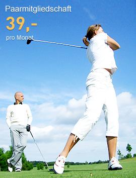 Golfmitgliedschaft für Paare ab 39 Euro pro Monat - mit der Fernmitgliedschaft Golf PLUS von Onegolf