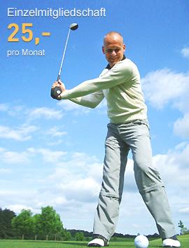Golfmitgliedschaft ab 25 Euro pro Monat - mit der Fernmitgliedschaft Golf PLUS von Onegolf